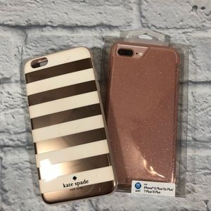 Kate Spade iPhone 6 plus case with extra case!
